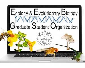 ecology and evolutionary biology graduate student organization logo